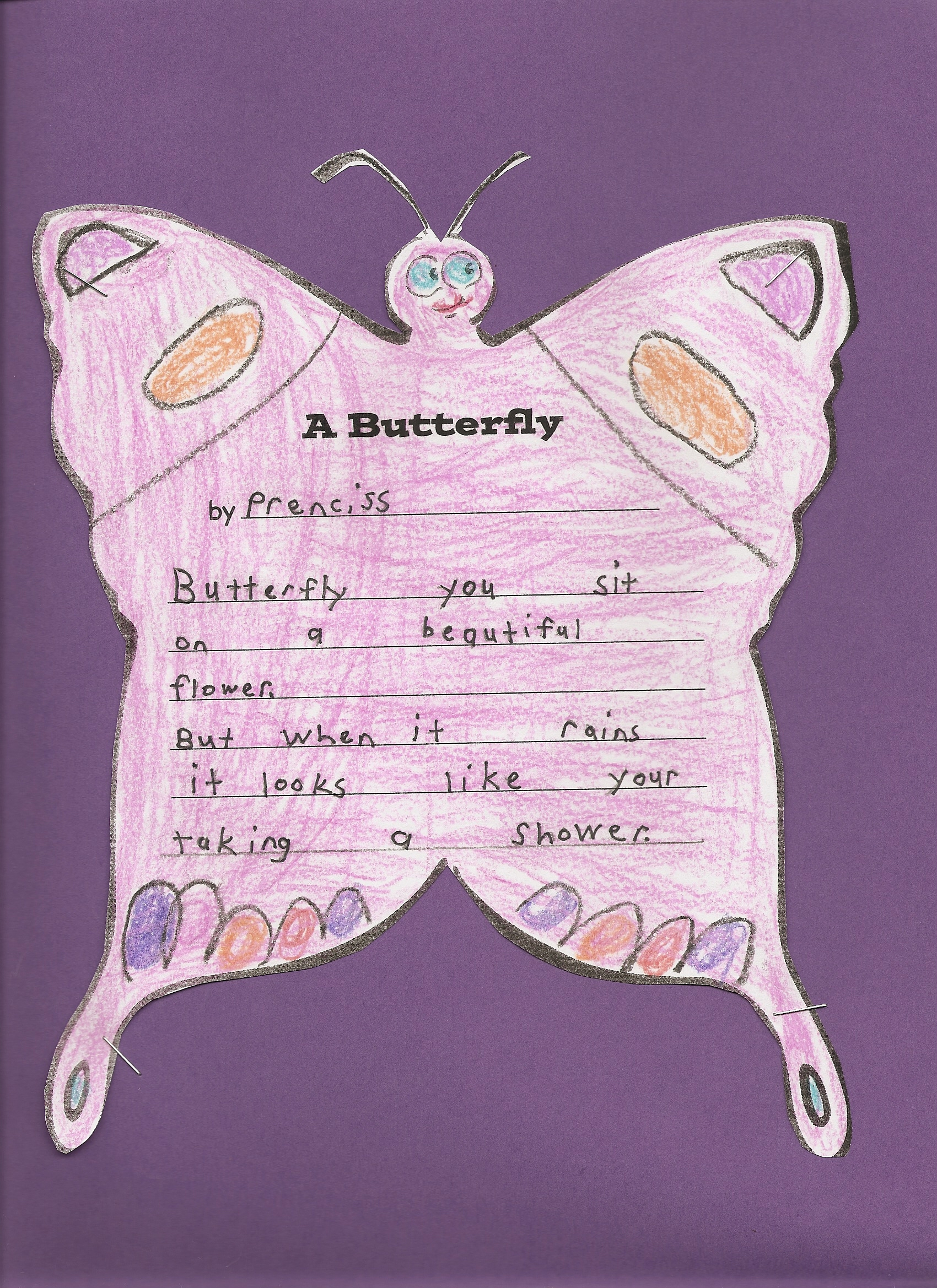 An Old Poem About Butterflies Using Metaphor 70